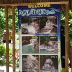 samboanの滝、aguinid falls